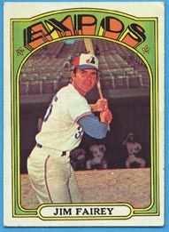 1972 Topps Baseball Cards      653     Jim Fairey